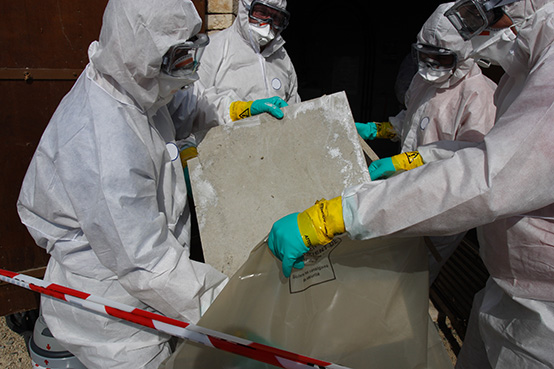 asbestos removal in London