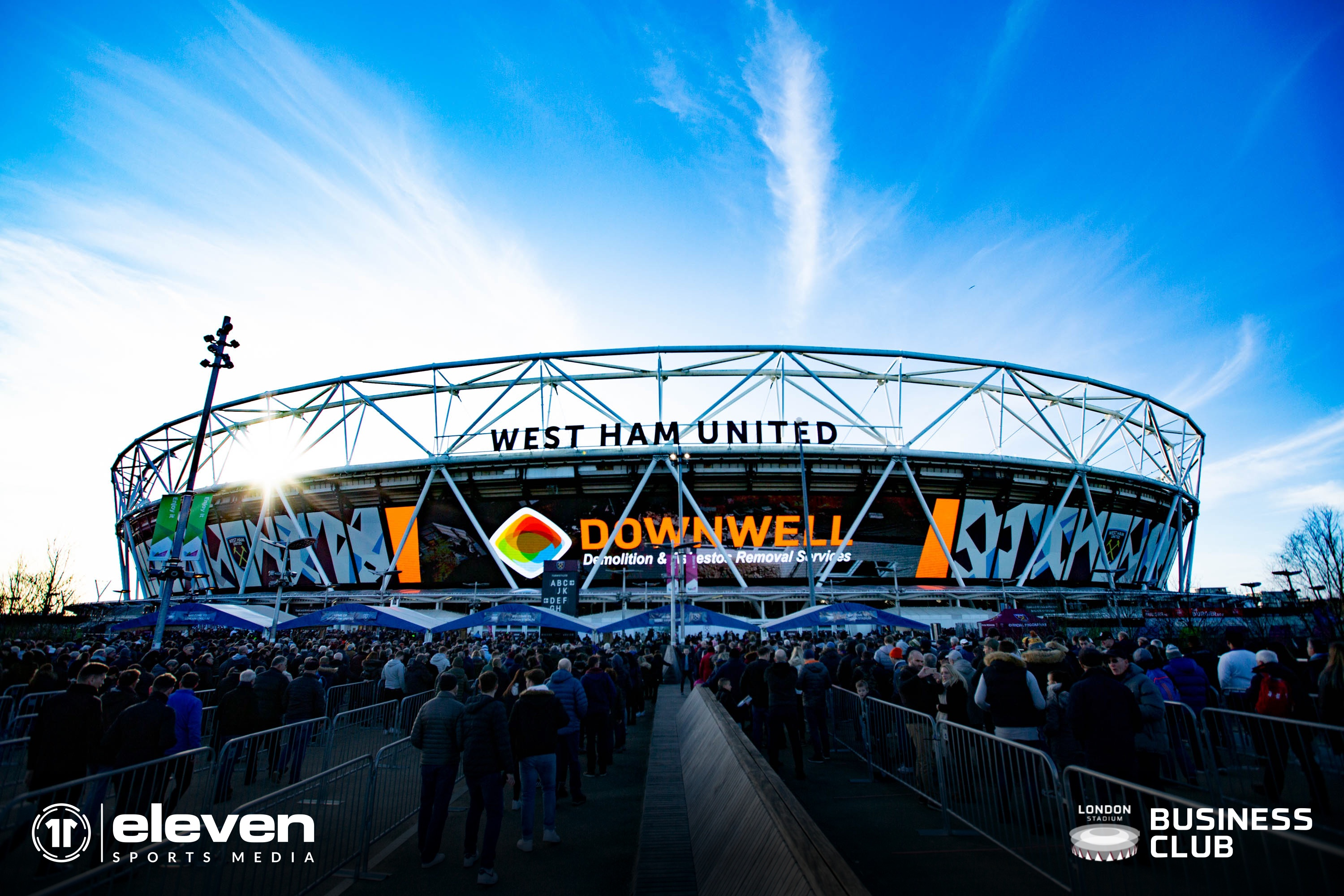 Downwell at the London Stadium