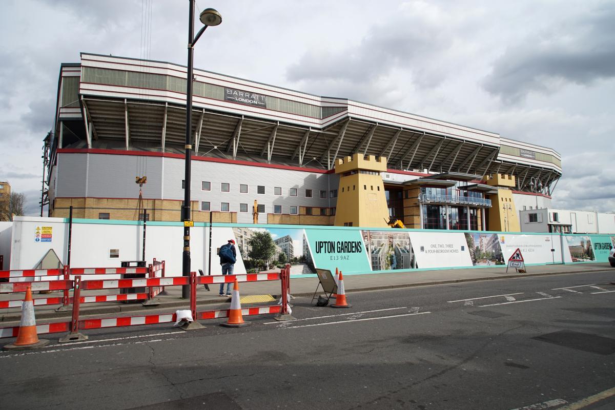 Farewell Boleyn - Asbestos removal