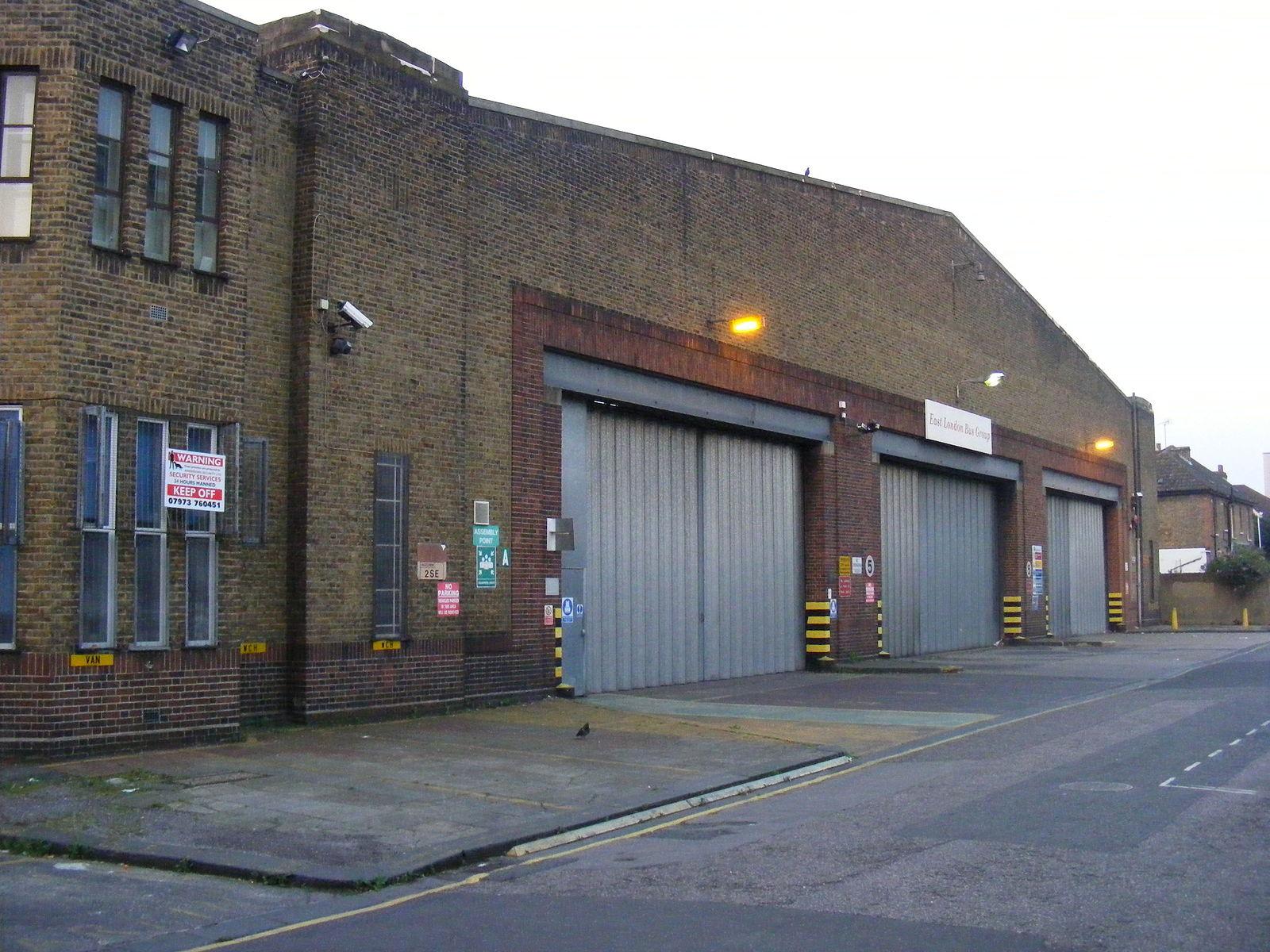 Upton Park Bus Garage